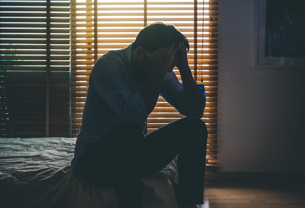Depressionen Mann Krankheit