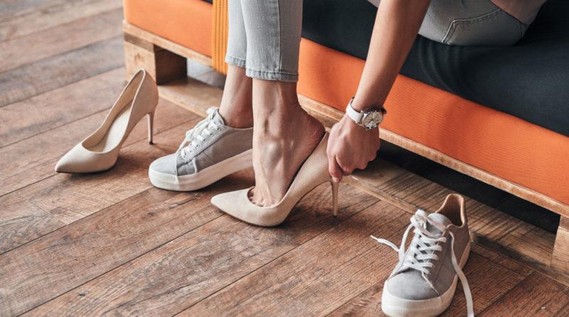 Schuhe groß