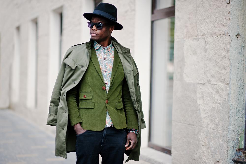 Style Farbe Jacke Mantel Sakko